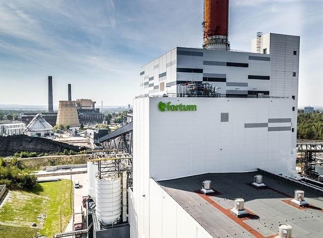 Jedna z istniejących już w Polsce elektrociepłowni Fortum spalająca odpady.