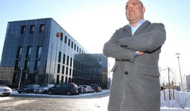 Szymon Mazurkiewicz, dyrektor Kieleckiego Parku Technologicznego