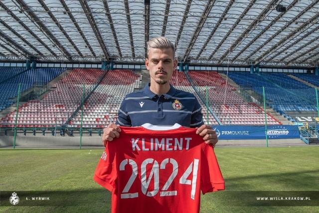 Jan Kliment poprawić grę ataku Wisły Kraków w nowym sezonie