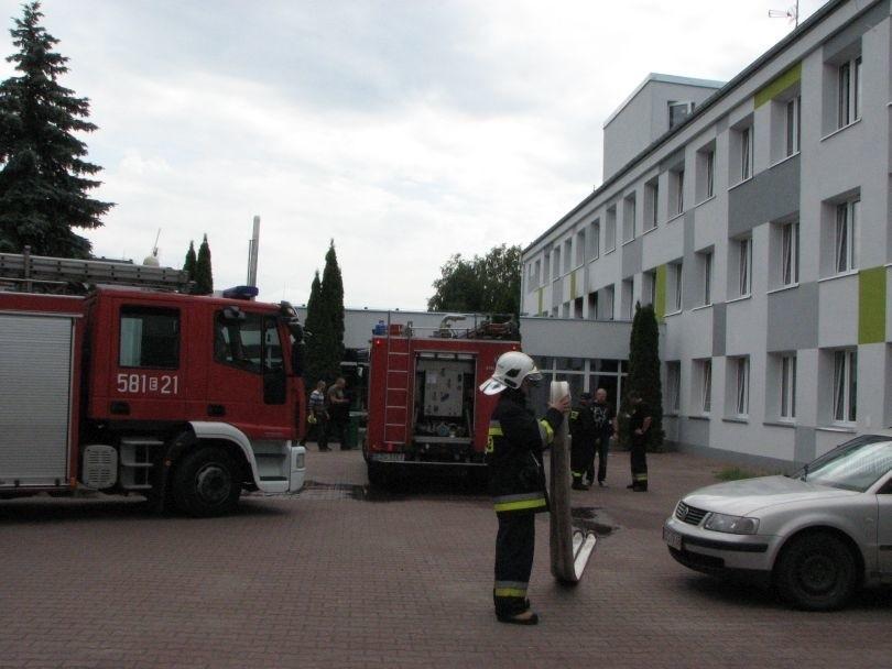 Pożar DPS w Rąbieniu