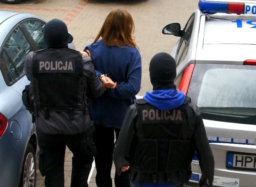 Kryminalni z Komendy Wojewódzkiej Policji w Białymstoku...