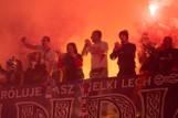 Lech Poznań - ŁKS 2:0. Kibice i wielkie racowisko na Bułgarskiej. Byłeś na meczu? Znajdź się na zdjęciach! [GALERIA PUBLICZNOŚCI]