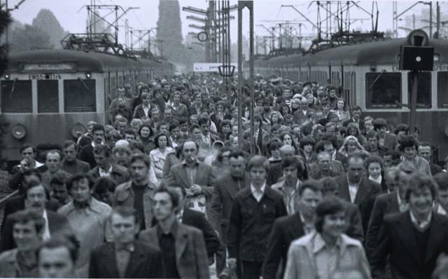 Warszawa Wileńska, Polska, 1979, ze zbiorów MuFo