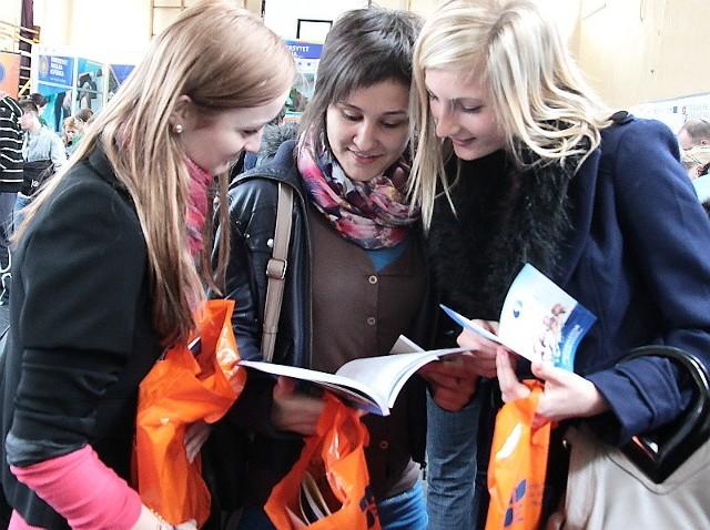 Targi odwiedziły m.in. Aleksandra Lewandowska, Marta Duszyńska i Magda Łukaszewska