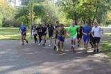 Uczniowie rywalizowali w brzezińskim Parku Miejskim