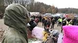 Zielona Góra. Ponad 100 osób uczestniczyło w proteście przeciwko budowie południowej obwodnicy Zielonej Góry [ZDJĘCIA, FILM]