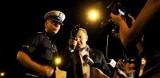 Prezydent i komendant policji wybrali się na nocny patrol. W kolumnie sześciu aut. (wideo, zdjęcia)