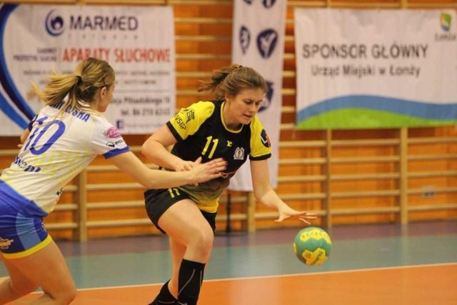 Adrianna Warda w meczu przeciwko Drwęcy zdobyła 8. bramek.