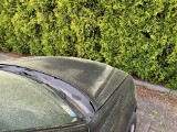 Żółty pył na samochodach. Co to jest? Pył saharyjski czy pyłki sosny? Umazane są szybu okna, ale też domowe parapety