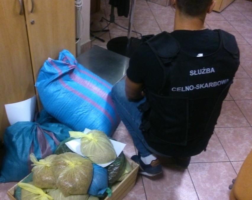 Funkcjonariusze Krajowej Administracji Skarbowej w Opolu znaleźli ponad 35 kg tytoniu do palenia bez akcyzy.