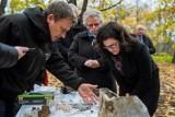 Aleksandra Dulkiewicz, prezydent Gdańska na terenie wykopalisk archeologicznych na Westerplatte [zdjęcia]