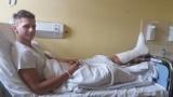 Mister Polski   miał wypadek   na motocyklu [zdjęcia]
