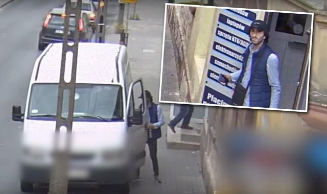 Policja szuka tego mężczyzny w związku z kradzieżą, do której doszło na Szwederowie.