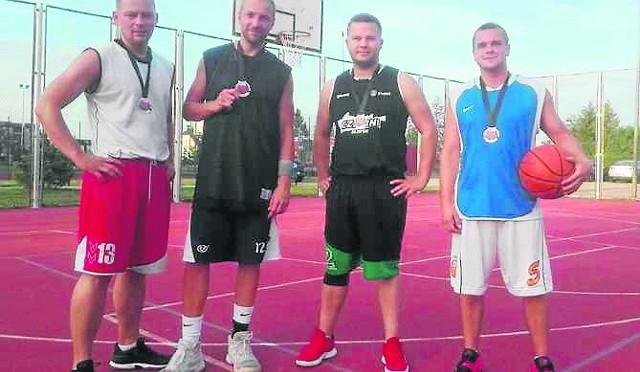 Od lewej: T.   Brzeski,  M. Borowski,  B. Budzyński, A. Derkacz.