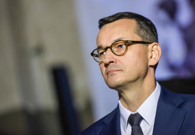 """Podczas Konwencji PiS w Katowicach, premier Mateusz Morawiecki zaprezentował """"Pakt dla przedsiębiorców""""."""