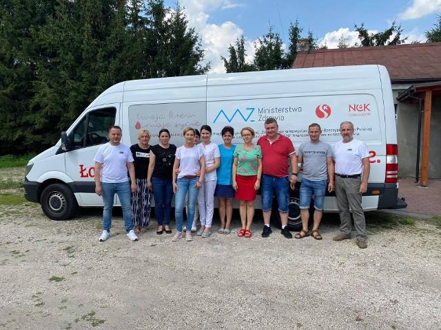 Podczas zbiórki krwi w Skalbmierzu