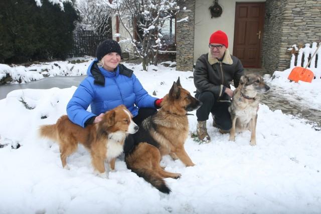 Jolanta Herman i jej życiowy partner Jarosław Pajko są gotowi pomóc w prowadzeniu przytuliska