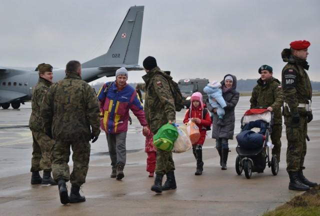 W styczniu 2015 roku w ramach akcji zorganizowanej przez Ministerstwo Spraw Zagranicznych do Polski dotarło 178 uchodźców z Donbasu i rejonu Ługańska