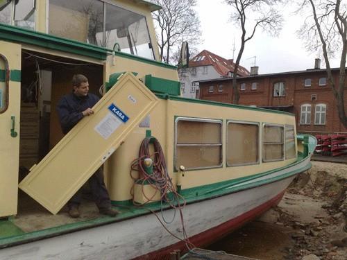 Po zakończeniu remontu statek otrzyma pokład słoneczny i w czasie rejsu będzie się można nawet opalać.