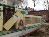 Księżna Jadwiga przechodzi lifting. Rozpoczęła się przebudowa statku