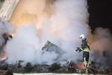 Dwa pożary budynków mieszkalnych w Starym Kurowie. Większość mieszkańców straciła swój dobytek