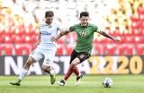 Fortuna 1 Liga. GKS Tychy - Radomiak Radom 1:0. Czerwone kartki dla Mateusza Radeckiego i Damiana Jakubika (ZDJĘCIA Z MECZU)