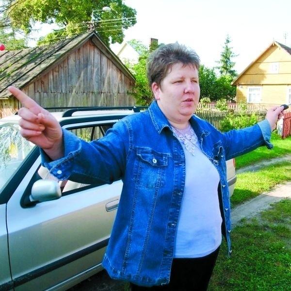 Nasza wieś się rozbudowuje, a ludziom mieszka się tu coraz lepiej - twierdzi Ewa Makarczuk, sołtys Ciasnego
