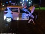 Pijany kierowca tira spowodował wypadek w Gospodarzu i uciekł. 34-letni kierowca miał ponad 2 promile alkoholu w organizmie
