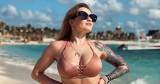 Ewelina Lisowska pręży swoje idealne ciało na meksykańskiej plaży!