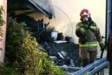 Straż po pożarze chemikaliów we Wrocławiu: Nie ma zagrożenia dla osiedli