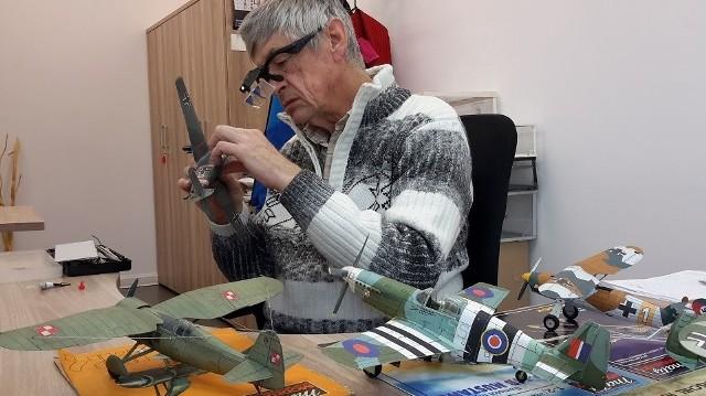 Modelarz Janusz Tyzenhauz