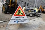 Poznań: Awaria wodociągu na Bułgarskiej. Są utrudnienia w rejonie skrzyżowania z Grunwaldzką