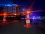 Wypadek dwóch motocykli niedaleko Kcyni. Nie żyje 21-letni mężczyzna