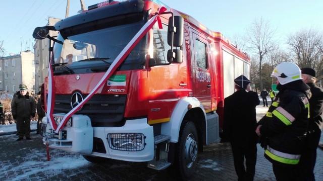 4 grudnia 2016 roku w Krynkach odbyło się uroczyste przekazanie nowego samochodu ratowniczo - gaśniczego GBA na podwoziu Mercedes Atego zakupionego jednostce Ochotniczej Straży Pożarnej w Krynkach.