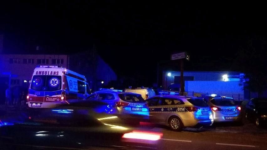 Mazowsze. Strzały podczas interwencji policji. Atak nożem na policjatnta. Napastnik nie żyje