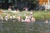 Najcieplejszy dzień w roku, a na kąpieliskach tłumy łodzian. Pogoda na nadchodzący tydzień? Kolejne dni  też będą upalne