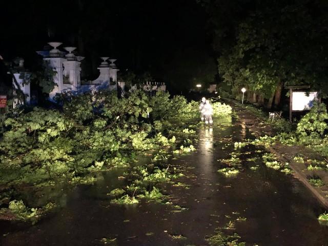 Zniszczenia pojawiły się we wszystkich gminach powiatu rypińskiego oraz w samym Rypinie
