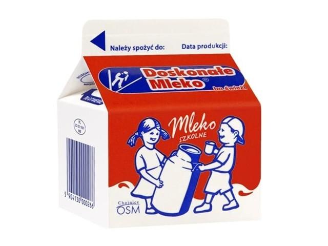 Mleko szkolne 2% z OSM w Chojnicach