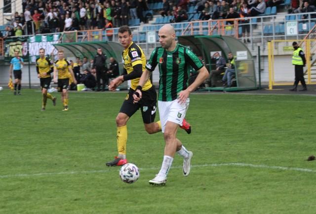 Michał Fidziukiewicz strzelił Siarce dwa gole