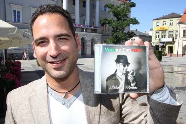 """Nowy album """"Volare Cantare"""" już jest! Alberto Amati życzy przyjemnego słuchania."""
