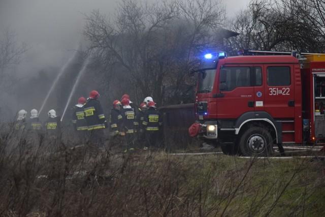 Śmiertelny pożar we wsi Mokra koło Skierniewic