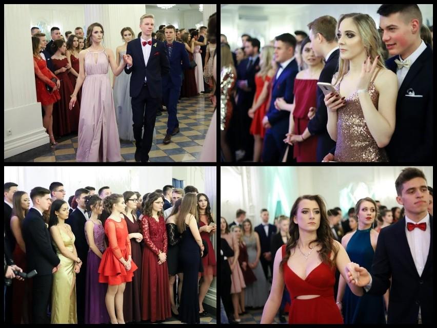 Tegoroczni maturzyści IV Liceum Ogólnokształcącego w Białymstoku zatańczyli poloneza w Dworze Czarneckiego. Potem ruszyli do stołów i na parkiet.