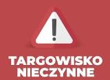 Białobrzegi. W związku z pandemią koronawirusa miejskie targowisko zostało zamknięte do odwołania!