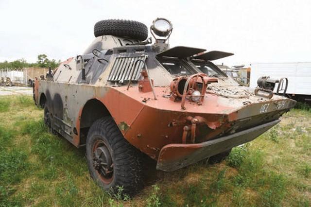 Samochód opancerzony BRDM