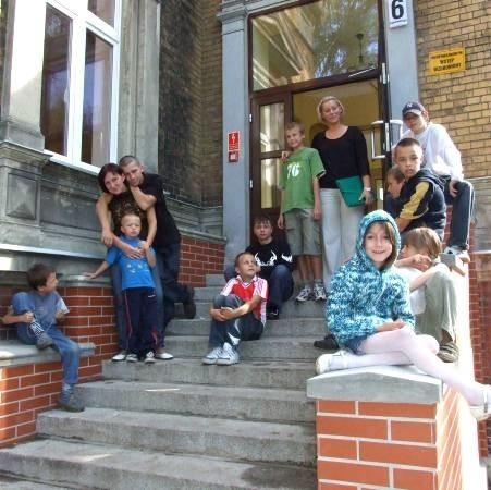 Dzieci z lubskiego domu są ciągle uśmiechnięte i zadowolone. Tak było, kiedy je odwiedziliśmy w poniedziałek.