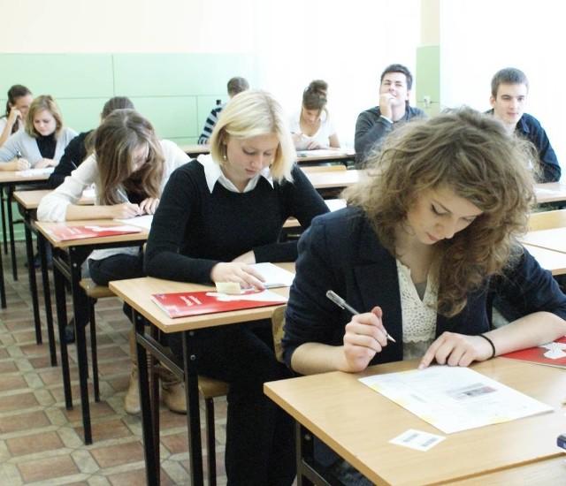 """Uczniowie """"Konopy"""" i """"Kaspra"""" (na zdjęciu) ciężko pracowali na wysoką lokatę swoich szkół w rankingu """"Rzeczpospolitej"""""""