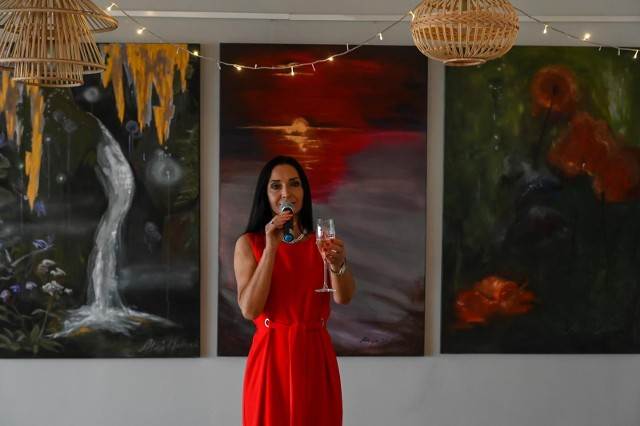 Alicja w krainie kolorów. Wystawa uczestniczki Big Brothera w Nowej Zatoce w Sopocie