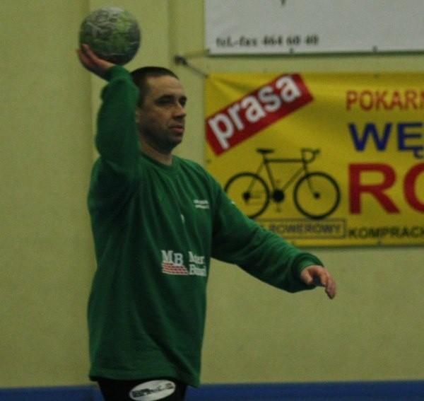 Bramkarz OSiR-u Rafał Barański podczas sobotniego meczu popisał się wieloma znakomitymi interwencjami