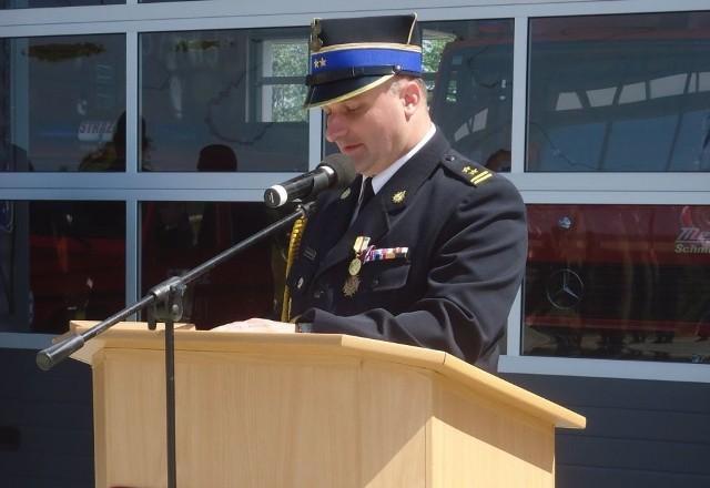 Hubert Harasimowicz kierował gorzowską strażą od ponad dekady. Teraz będzie szefem wszystkich lubuskich strażaków.