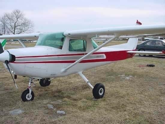 Cessna 150 to mały dwumiejscowy samolot.